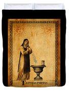 Tarot Card Temperance  Duvet Cover