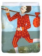 Tarot The Fool Duvet Cover