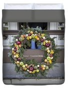 Tarpley Thompson Store Wreath Duvet Cover