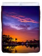 Tarpon Springs Glow Duvet Cover