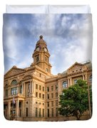 Tarrant County Courthouse II Duvet Cover