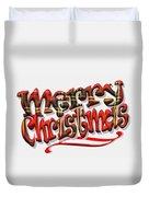 Tartan Merry Christmas Duvet Cover