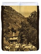 Tassajara Hot Springs Monterey County Calif. 1915 Duvet Cover