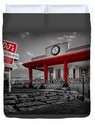 Taste Of The Fifties Duvet Cover by Susan Candelario