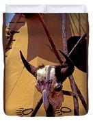 Tatanka Skull Duvet Cover