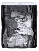 Tattered And Torn Duvet Cover