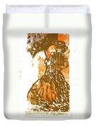 Tattered Parasol Duvet Cover