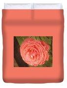 Tattered Rose Duvet Cover