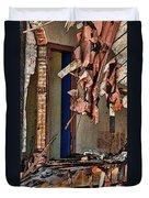Tattered Duvet Cover