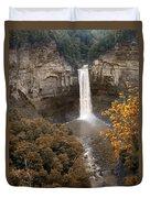 Taughannock Falls Park Duvet Cover