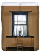 Tavern Window And Chair Duvet Cover