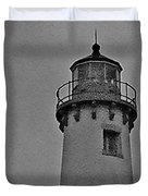 Tawas Point In The Rain Duvet Cover