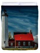 Tawas Point Lighthouse Duvet Cover