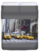 Taxi Duvet Cover