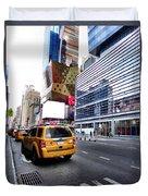Taxi Man Duvet Cover