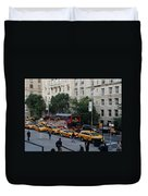 Taxi Stand Duvet Cover