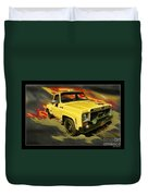 Taxicab Repair 1974 Gmc Duvet Cover