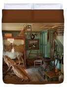 Taxidermy At The Holzwarth Historic Site Duvet Cover