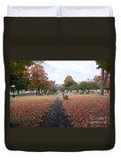 Taylor Park St Albans Vermont Duvet Cover