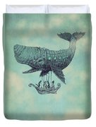 Tea At Two Thousand Feet Duvet Cover