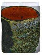 Tea Bowl #1 Duvet Cover
