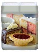 Tea Cakes Duvet Cover