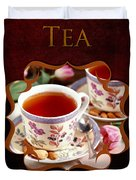 Tea Gallery Duvet Cover