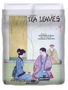 Tea Leaves Duvet Cover