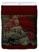 Tea Meditation Duvet Cover