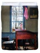 Teacher - Schoolmaster's Desk Duvet Cover