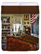 Teacher - Vintage Desk Duvet Cover
