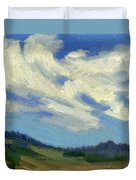 Teanaway Passing Clouds Duvet Cover