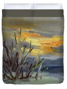 Teanaway Valley Winter Duvet Cover