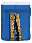 Teardrop  9 - 11 Memorial Bayonne N J  Duvet Cover