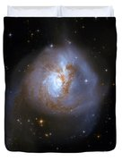 Tear Drop Galaxy Duvet Cover by Jennifer Rondinelli Reilly - Fine Art Photography