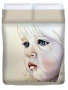 Tear Stains Duvet Cover