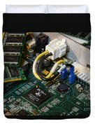 Technology - The Motherboard Duvet Cover