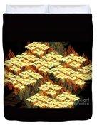 Tectonics Duvet Cover