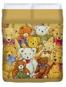 Ted Patch Duvet Cover