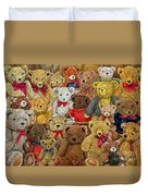 Ted Spread Duvet Cover by Ditz