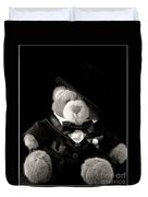 Teddy Bear Groom Duvet Cover by Edward Fielding