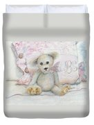 Teddy Friend Duvet Cover