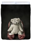 Teddy In Pumps Duvet Cover