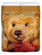 Teddy's Anniversary Duvet Cover