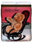 Teddy's Chair - Toy - Children Duvet Cover