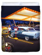 Teds Drive-in Duvet Cover