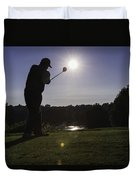 Teeing Off Duvet Cover