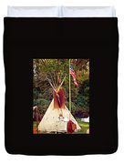 Teepee Duvet Cover by Marty Koch