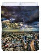 Tel Aviv Blade Runner Duvet Cover