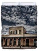 Tel Aviv First Railway Station Duvet Cover by Ron Shoshani